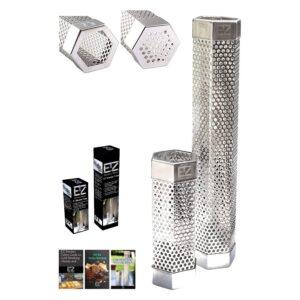 The Best Pellet Tube Smoker Option: BBQFAM 6 & 12 EZ Smoker Tube Set