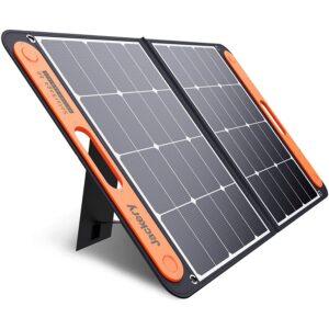 最佳便携式太阳能电池板选择:Jackery SolarSaga 60W太阳能电池板的探索者