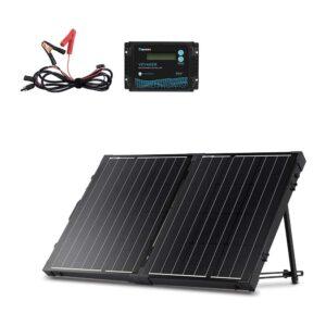 最佳便携式太阳能电池板选择:雷诺能源200瓦单晶可折叠太阳能