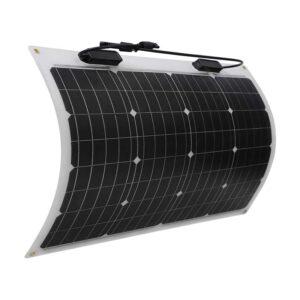 最佳便携式太阳能电池板选择:雷诺50瓦12伏特单晶太阳能电池板