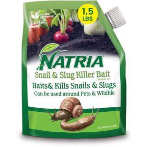 The Best Slug Killer Option: Natria 706190A Snail and Slug Killer Bait