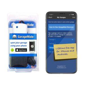 The Best Smart Garage Door Opener Option: GarageMate Bluetooth Garage Door Opener