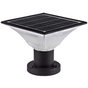 The Best Solar Post Cap Lights Option: FOOYANCHO Solar Post Cap Lights - Outdoor - (1 Pack)