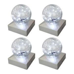最佳的太阳能帽灯选项:Sunnypark太阳能灯 - 凝视球 -  4包