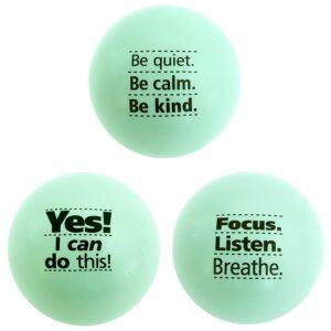 The Best Stress Ball Option:Teacher Peach Motivational Stress Ball Assortment