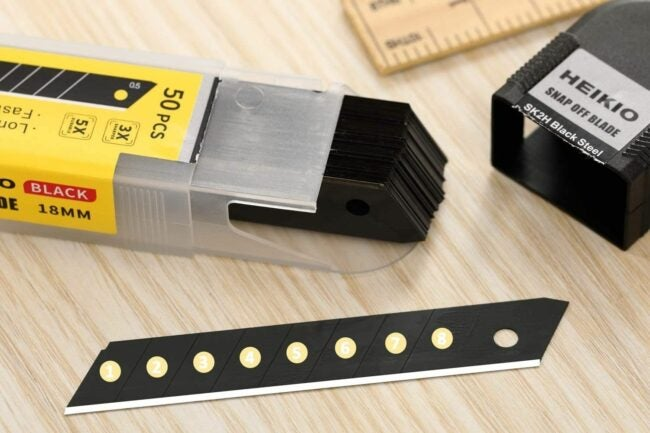 The Best Utility Knife Blades Option