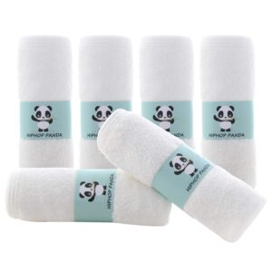 The Best Washcloths Option: HIPHOP PANDA Bamboo Baby Washcloths