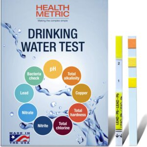 The Best Water Test Kit Option: Health Metric Drinking Water Test Kit