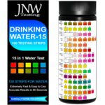 The Best Water Test Kit Option: JNW Direct Drinking Water Test Strips 15 in 1