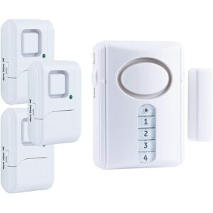 The Best Wireless Home Security System Option: GE Personal Security Alarm Kit