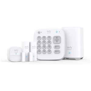 The Best Wireless Home Security System Option: eufy Security 5-Piece Home Alarm Kit