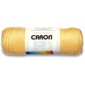 The Best Yarn Option: Caron Simply Soft Yarn