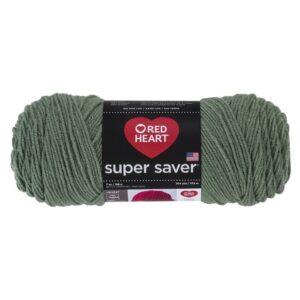 The Best Yarn Option: Red Heart Super Saver Yarn