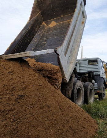Cost of Topsoil Delivery Near Me