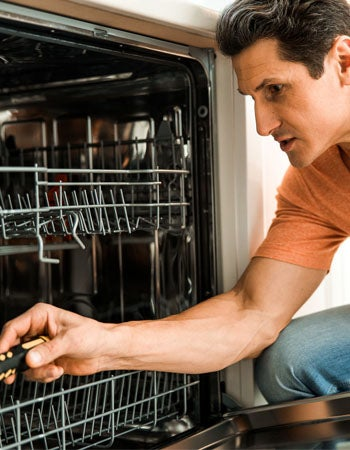 Dishwasher Not Getting Water Because of a Defective Water Inlet Valve