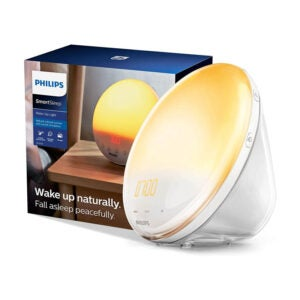 The Best Alarm Clock for Heavy Sleepers Option: Philips SmartSleep Wake-up Light, Colored Sunrise