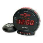 The Best Alarm Clock for Heavy Sleepers Option: Sonic Bomb Dual Extra Loud Alarm Clock