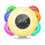 The Best Alarm Clock for Heavy Sleepers Option: hOmeLabs Sunrise Alarm Clock - Digital LED Clock