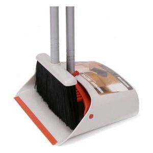 The Best Broom for Hardwood Floors Option: TreeLen Broom and Dustpan