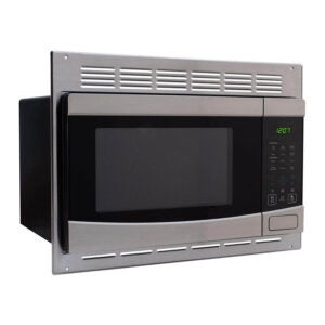 The Best Built-In Microwave Option: RecPro RV Stainless-Steel Microwave