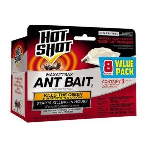 最好的木匠蚂蚁杀手选项:热射击Maxattrax蚂蚁诱饵