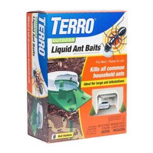 最好的木匠蚂蚁杀手选择:Terro 1806户外液体蚂蚁诱饵