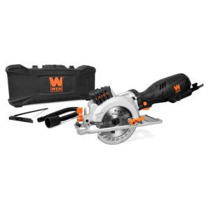The Best Compact Circular Saw Option: WEN 3625 5-Amp 4-1 2-Inch Beveling Compact Circular