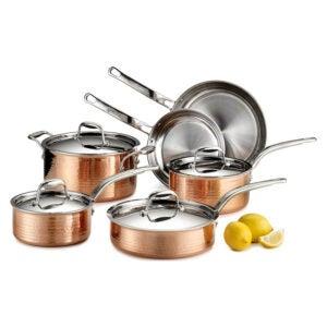 The Best Cookware Set Option: Lagostina Martellata Hammered Copper