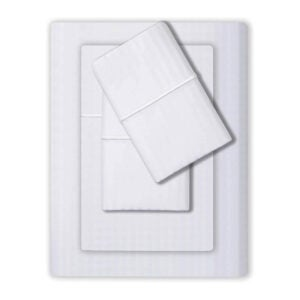 The Best Deep Pocket Sheets Option: Feather & Stitch 500 Thread Count 100% Cotton Sheets