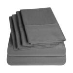 The Best Deep Pocket Sheets Option: Sweet Home Collection Sheets-6 Piece