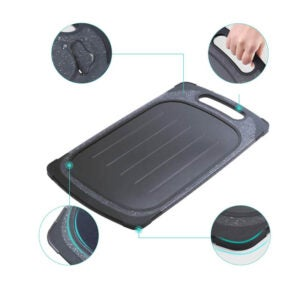 The Best Defrosting Tray Option: GEMITTO 2 in 1 Defrosting Tray Cutting Board