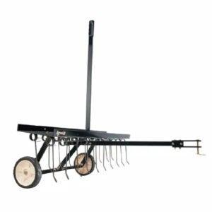 """最佳的""""有限素""""选项:Agri-Fab 40英寸拖曳草坪Dethatcher"""