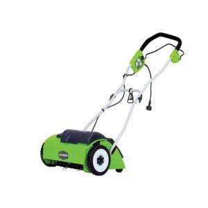 最佳的Dethatcher选项:GreenWorks 10 AMP 14英寸有线电器,27022