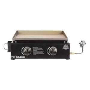 最好的平顶烧烤选择:坑老板PB336GS 2燃烧器桌上LP燃气网格
