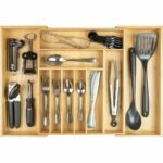 The Best Flatware Organizer Option: KitchenEdge Premium Silverware, Flatware and Utensil