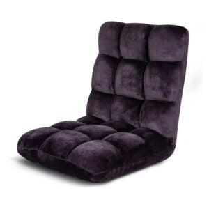 最佳地板椅选择:birrock家用可调节记忆泡沫地板椅