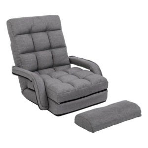 The Best Floor Chair Option: WAYTRIM Indoor Chaise Lounge Folding Floor Chair