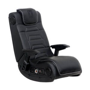 The Best Floor Chair Option: X Rocker Pro Series H3 Leather Vibrating Floor Chair