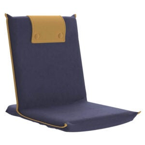 最佳地板椅选择:bonVIVO Easy III垫垫地板折叠椅