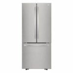 The Best French Door Refrigerator Option: LG Electronics 21.8 cu. ft. French Door Refrigerator
