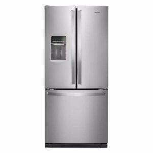 The Best French Door Refrigerator Option: Whirlpool 20 cu. ft. French Door Refrigerator