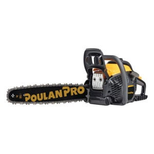 The Best Gas Chainsaw Option: Poulan Pro 20 in. 50cc 2-Cycle Gas Chainsaw
