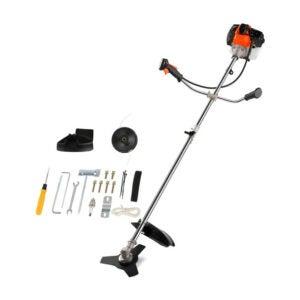 最好的气体串修剪器选项:Coocheer 42.7CC杂草油气动力串修剪器