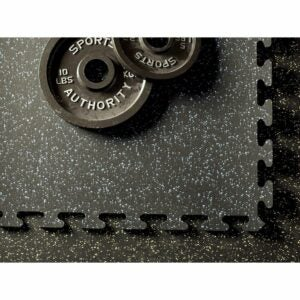 "The Best Gym Flooring Option: American Floor Mats Fit-Lock 3/8"" Rubber Flooring"