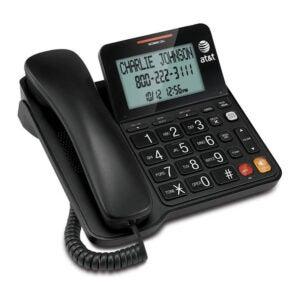 最好的固定电话选择:AT&T有线电话来电显示XL按钮