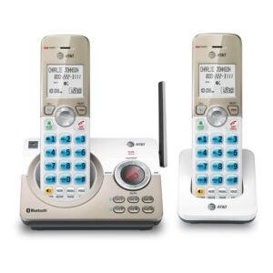 最好的固定电话电话选项:AT&T DL72219 DECT 6.0 2手机无绳电话