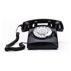 最佳固定电话选择:桑金旋转拨号20世纪60年代复古电话