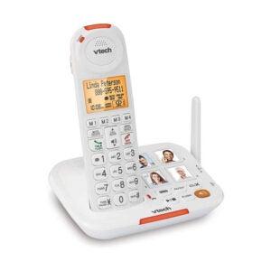 最佳固定电话选择:VTech放大无绳高级电话系统