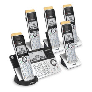 最佳固定电话选择:VTech超长5手机DECT 6.0电话