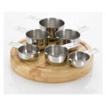 The Best Measuring Cups Option: Bellemain Stainless Steel 6 piece Measuring Cups